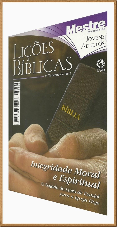 Lições Bíblicas - Jovens e Adultos