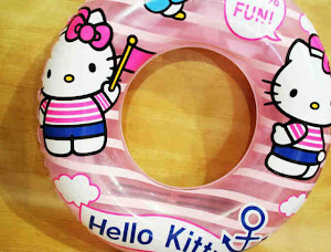 Pelampung hello kitty