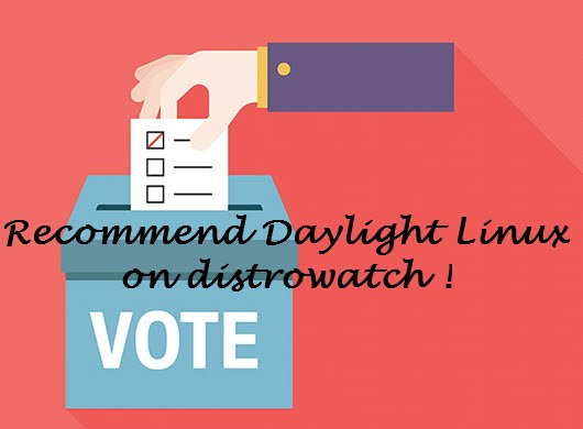 Vote for Daylight Linux !