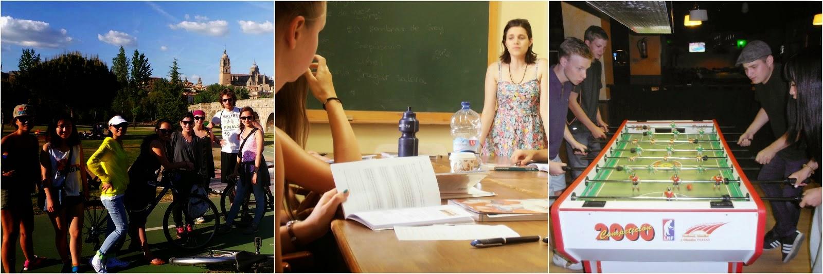 Actividades extraescolares en Tía Tula Colegio de Español, Salamanca, España