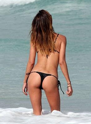 Belen Rodriguez Bikini Nude Photos 9