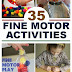 Fine Motor Activities for Kids