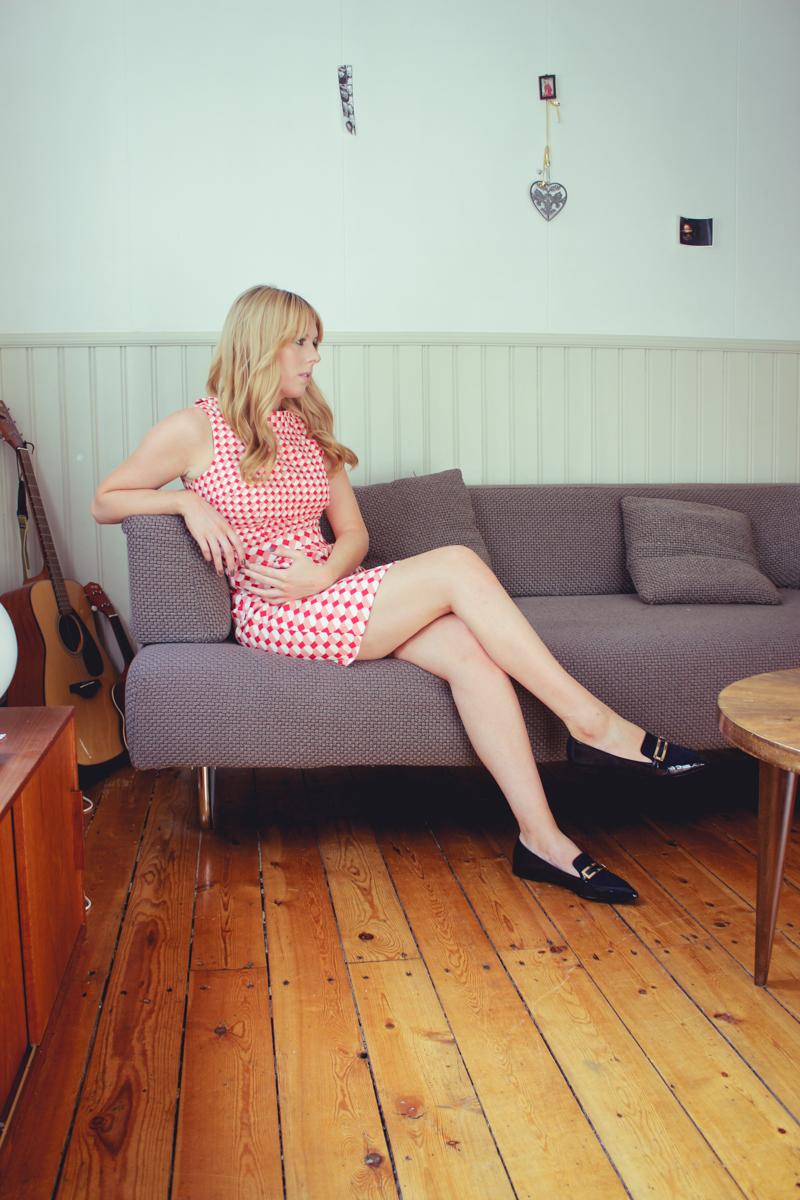 Boden Clothing 60s Print Dress, The Goodowl
