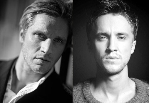 Devon Sawa and Tom Felton