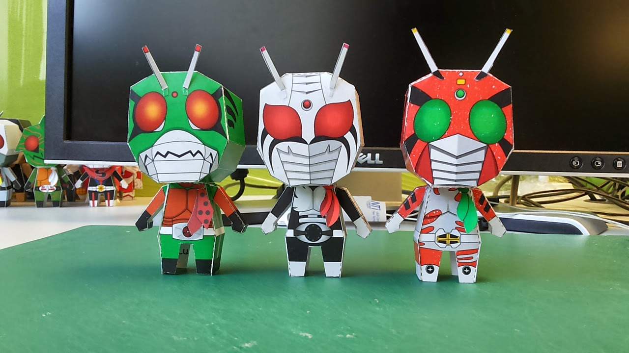 Kamen Rider ZX Paper Toy