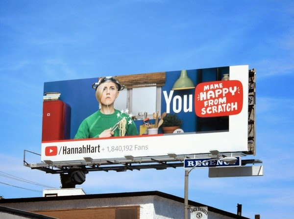 YouTube Hannah Hart billboard