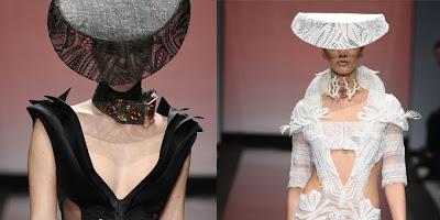 Vanessa Lekpa haute couture romantique Gattinoni dentelle noire bijoux