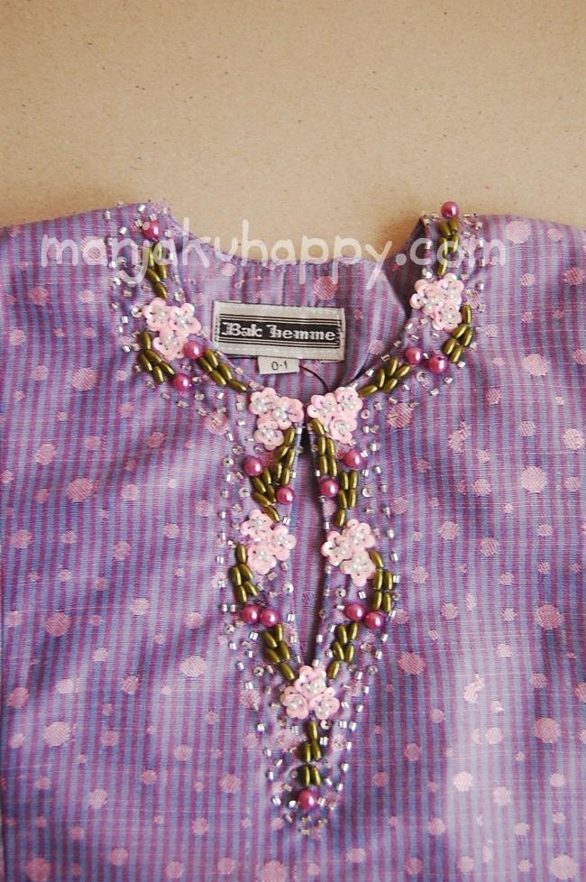 ... untuk bayi dan kanak-kanak Raya 2011 (Code: BK7i, Warna: Light Purple