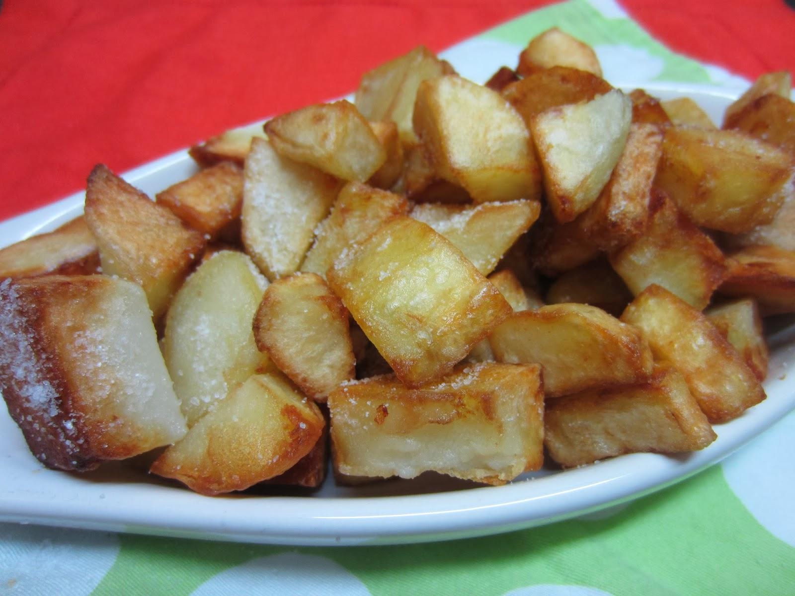 Recetas de la abuela: Fried potatoes in olive oil