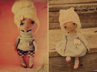 Совместный пошив текстильной куклы