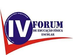 IV Fórum de Educação Física Escolar -FIEP 2011