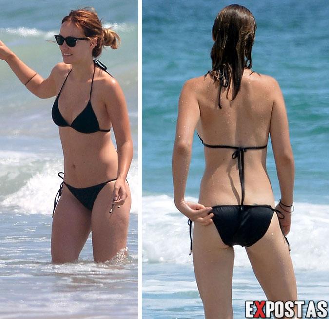 Olivia Wilde: Bikini Candids em praia de Wilmington, Delaware - 22 de Agosto de 2012
