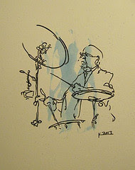 New Orleans Jazz Drummer (Sold)