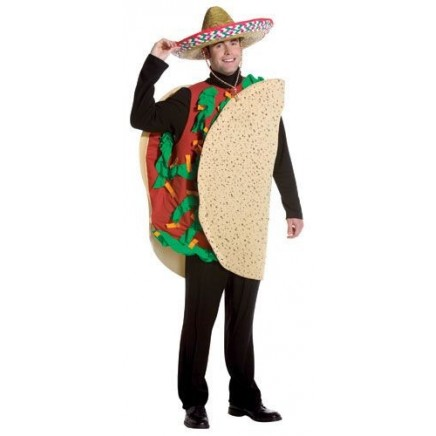 Disfraz de Taco Mexicano
