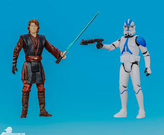 Hasbro Star Wars Mission Series: Coruscant - Anakin Skywalker & 501st Legion Trooper Figures