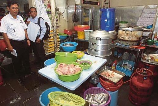 Restoran jijik di Jalan Ara Bangsar berlipas dan bernajis tikus