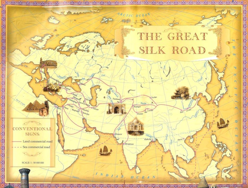 history of the silk road The silk road is as iconic in world history as the colossus of rhodes or the suez canal but what was it, exactly it conjures up a hazy image of a caravan of camels.