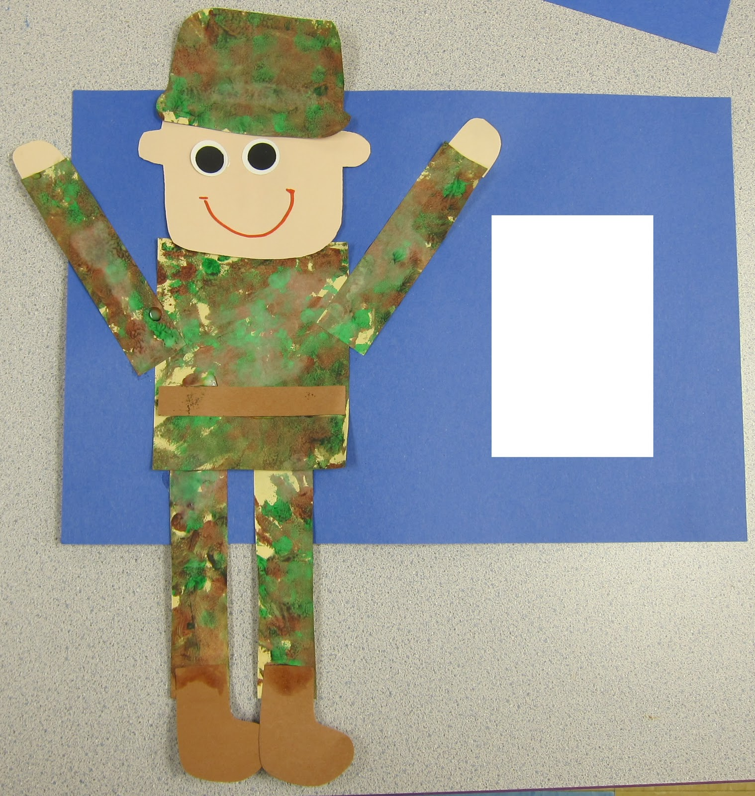 mrs karen 39 s preschool ideas veteran 39 s day 2011 On veterans day crafts for preschoolers