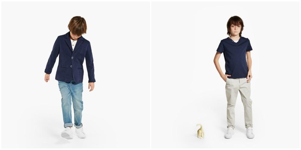 americana con jeans pantalon chino mango boys ss15