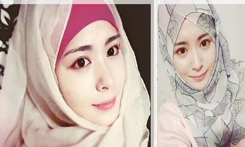 Ayana Moon, Mualaf Cantik dari Korea Selatan