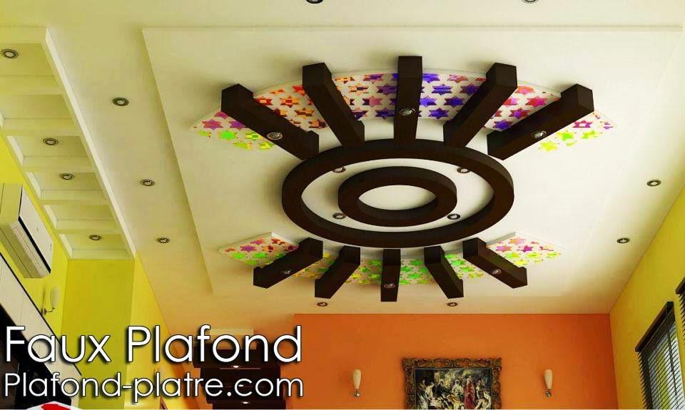 Conception harmonieux lumineux Faux plafond suspendu