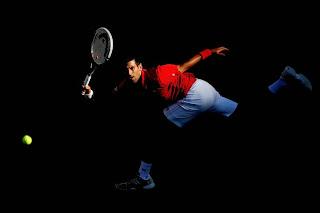 Noval Djokovic ha necesitado años de entrenamiento para mecanizar su juego