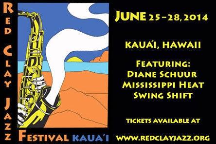 Kauai HI Red Clay Jazz Festival & Concert