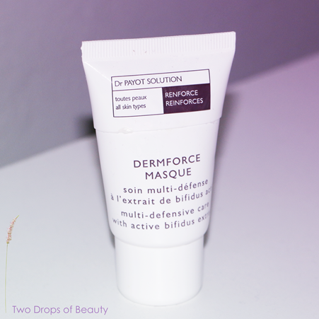 Payot, maska hypoallergenni, маска dermaforce masque