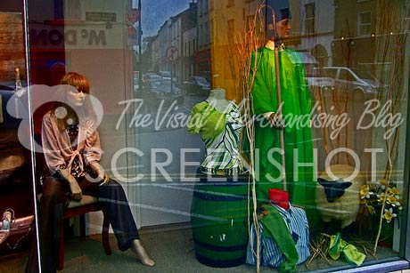 St Patricks Day Boyle Shop Window