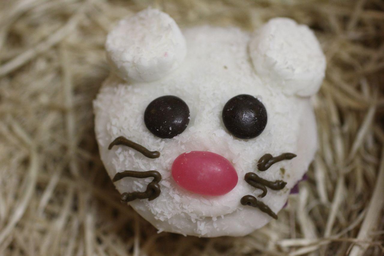 Cupcake Decorating Ideas Animals : Green Gourmet Giraffe: Animal cupcakes: chicks, pigs ...