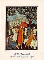 At The Polo Match, Queen's Park Savannah - 1926