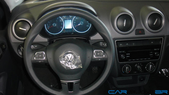 Novo Gol Power G6 2013 i-Motion - volante multi-funcional