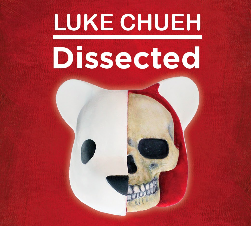 The Dissected Vinyl Figure Kickstarter Campaign by Luke Chueh x Clutter Magazine x Unbox Industries - Original Colorway
