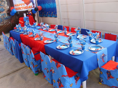 Decoraci Fiestas Infantiles Superman