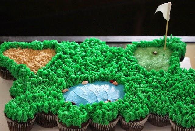 Golf  Course Cupcakes Recipe