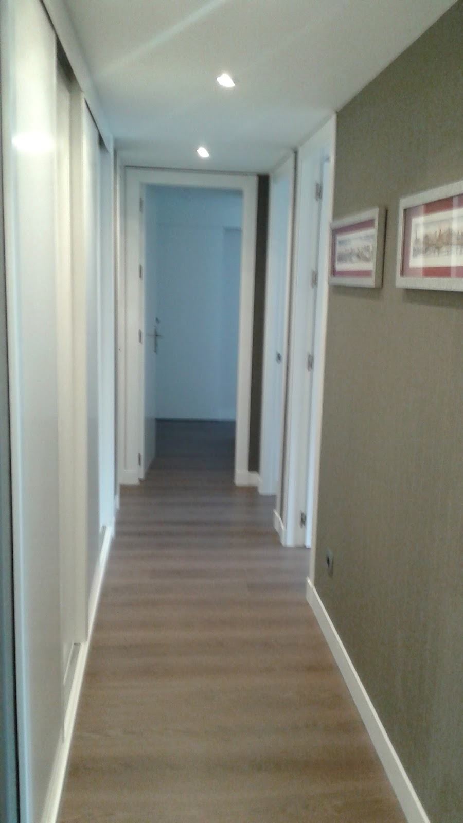 Marta decoycina como decorar pasillos largos - Como pintar las juntas del piso ...