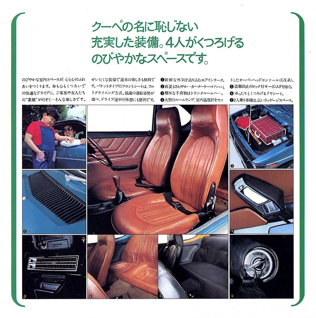suzuki fronte coupe, wyposażenie, akcesoria, broszura, mały samochód, ciekawe niewielkie auta, silnik 3-cylindrowy