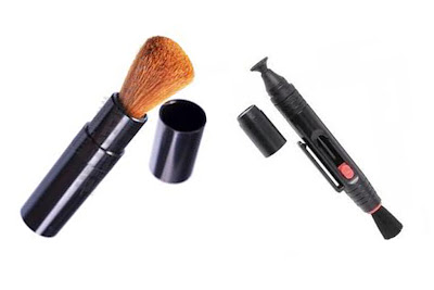 Lens Brush and Lens Pen used for Cleaning DSLR Lens