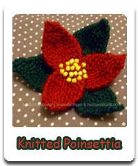 http://nezumiworld.blogspot.co.uk/2010/12/knitted-poinsettia.html