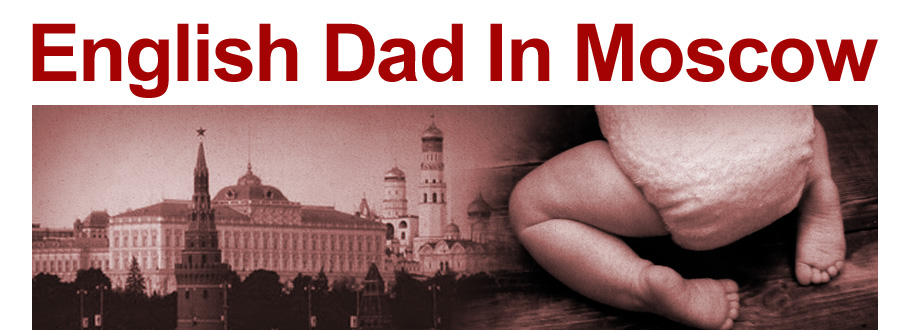 English Dad In Moscow