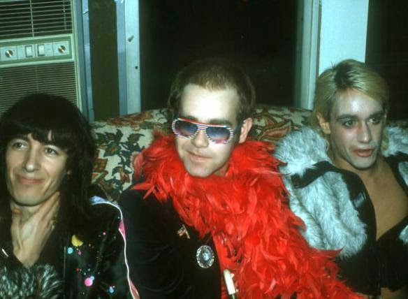 Bill Wyman, Elton John e Iggy Pop
