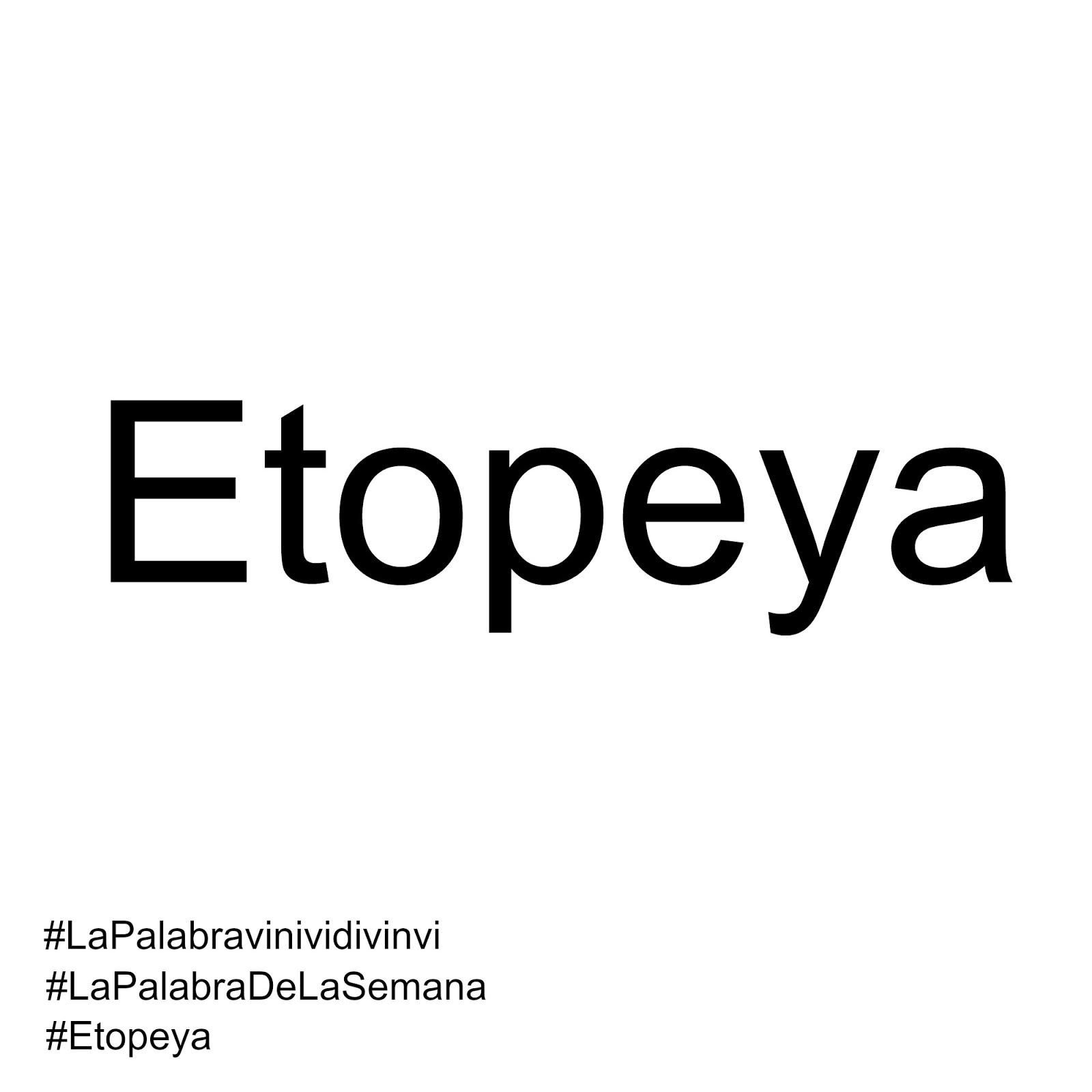 #lapalabravinividivinvi #lapalabradelasemana #etopeya