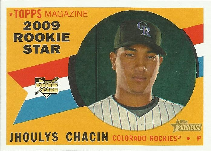 Jhoulys Chacin was signed by the Rockies as an amateur international free ...