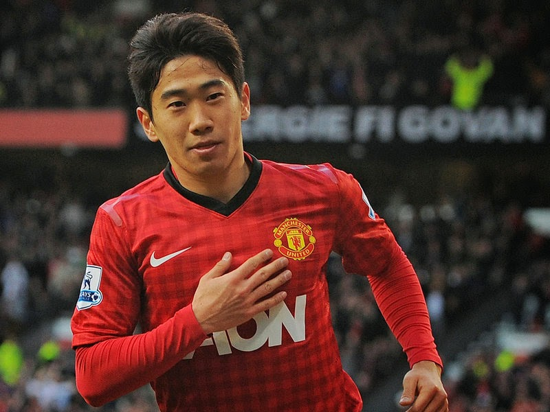 Shinji Kagawa of Manchester United and Japan