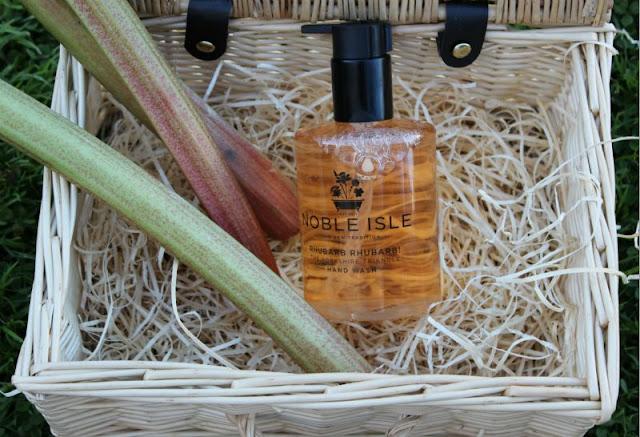 Noble Isle Rhubarb and Rhubarb Hand Wash