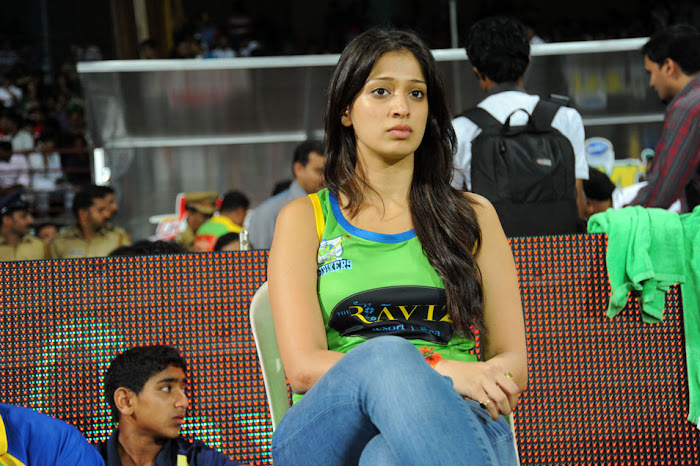 lakshmi rai at ccl match, lakshmi rai cute stills