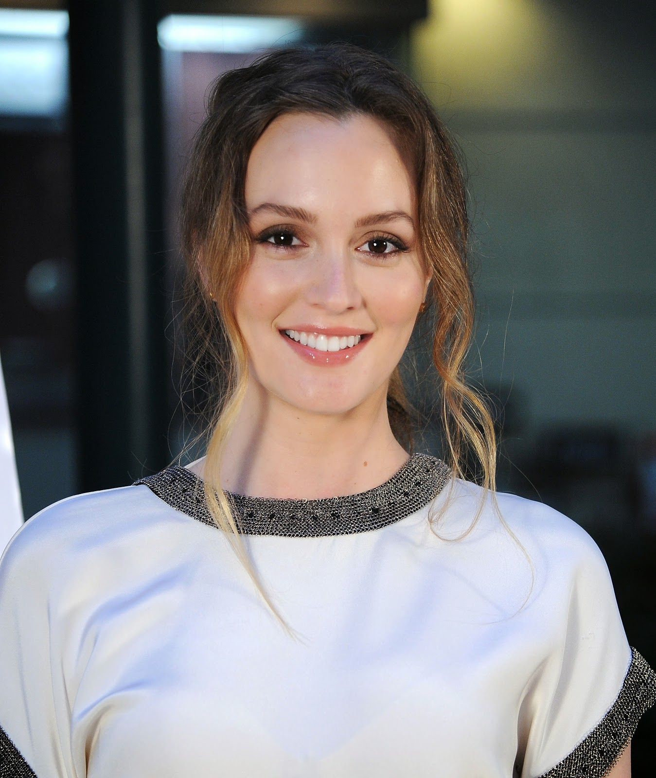 Leighton Meester at the Premiere of 'Like Sunday, Like Rain'