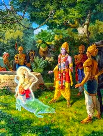 Shri Krishna and King Nrig