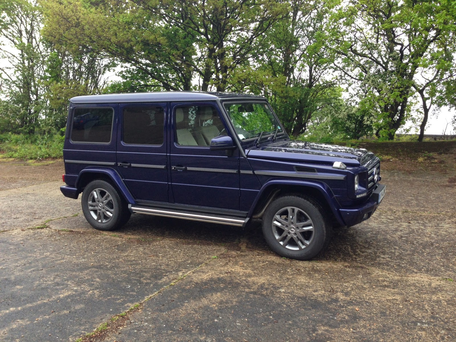 Mercedes-Benz G 350 BlueTEC Long Wheelbase
