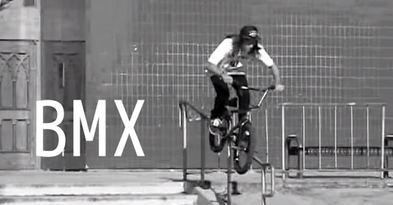 「BMXってやっぱりカッコイイな」って思った